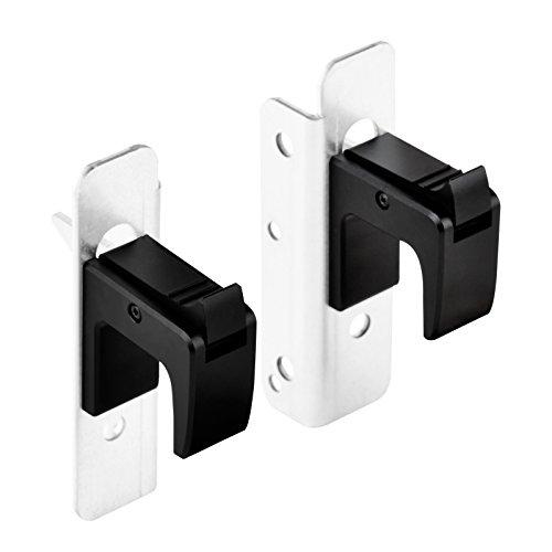 Auto Lock Handle For Convenient Fixation Of 2U Rackmount To Cabinet