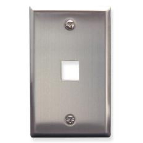 IC107SF1SS- 1Port Face - Stainless Steel