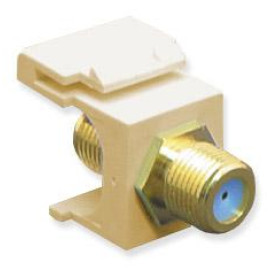 Module, F-Type -Gold Plated, 3GHZ, Ivory