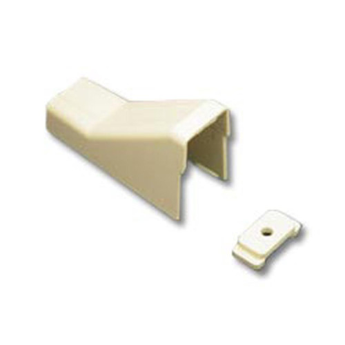 CEILING ENTRY AND CLIP 1 3/4 IVORY 10PK