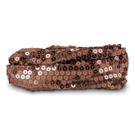 Calypso Studios Glitz Bendi Sequin Wire Headband, Brown