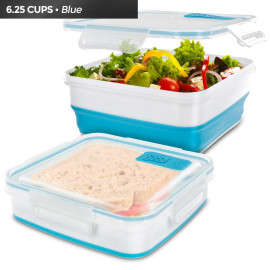 Cool Gear Expandable Food Storage, 1959 (Blue/White)